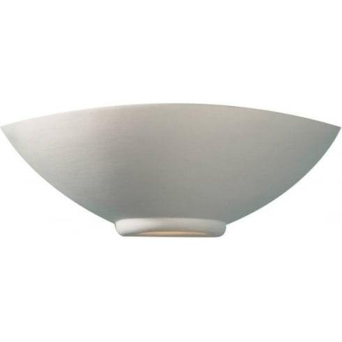 Dar Lighting Otis OTI0748 Unglazed Ceramic Glass Wall Washer