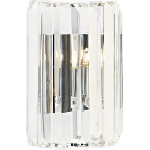 Dar Lighting Sketch SKE0750 Polished Chrome Wall Light