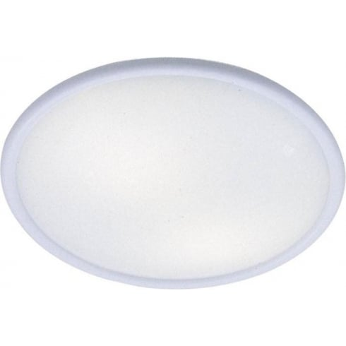 Dar Lighting Flash FLA502/2D Large Flash White Ceiling Light