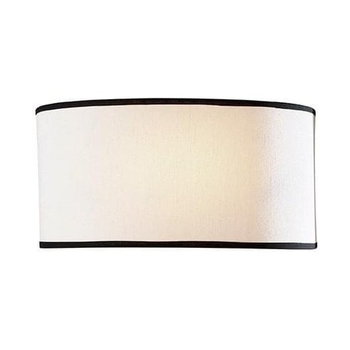 Dar Lighting Ascott ASC0733 Cream Shade Wall Light