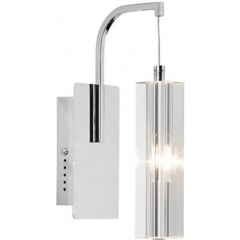 Dar Lighting Galileo GAL0750A Polished Chrome LV Wall Light