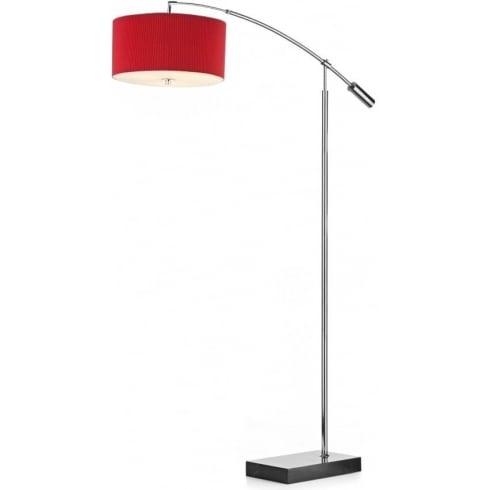 Dar Lighting Zaragoza ZAR49 Marble Base 3 Light Floor Lamp