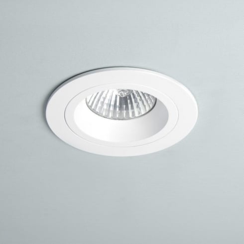 Astro Lighting Taro 5639 White Round Fixed GU10 Recessed Downlight 230V