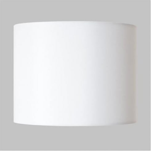 Astro Lighting Drum 150 4061 White Fabric Drum Lamp Shade