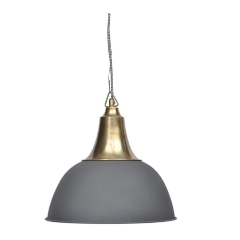 Libra Company Merle 337779 Small Matt Black Pendant Ceiling Light