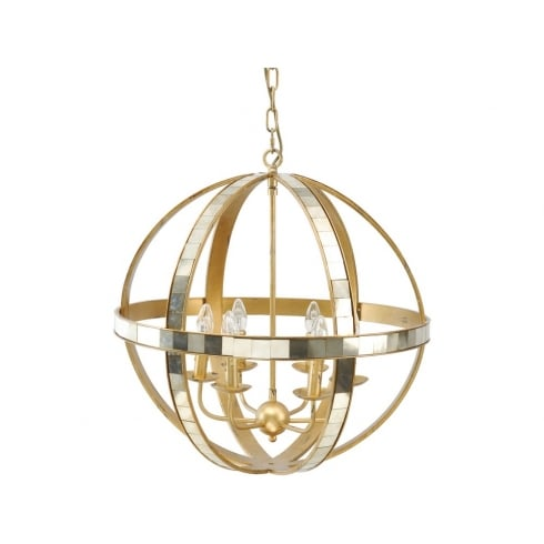 Libra Company Corran Orb 337925 Chandelier Ceiling Light