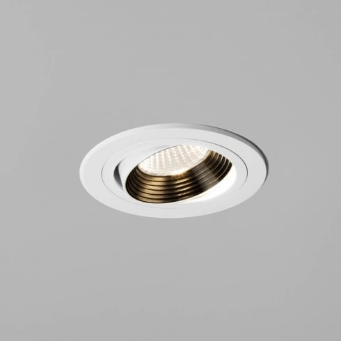Astro Lighting Aprilia 5691 Round Adjustable White Integrated LED Recessed Downlight