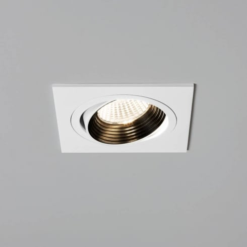 Astro Lighting Aprilia 5693 Square Adjustable White Integrated LED Recessed Downlight