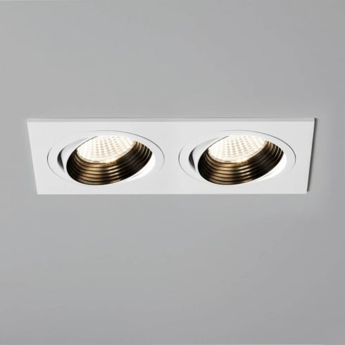 Astro Lighting Aprilia Twin Adjustable 5688 White Integrated LED Recessed Downlight