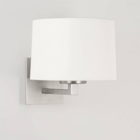 Astro Lighting Azumi 0928 Matt Nickel Classic Surface Mounted Wall Light IP20