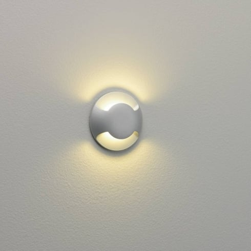 Astro Lighting Beam 0938 Twin Light Painted Silver LED Ground or Wall Light