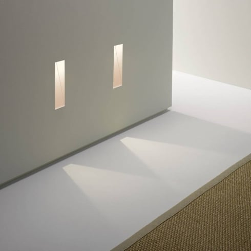 Borgo 35 0976 Tall Trimless LED Recessed Plastered In Wall Light IP20
