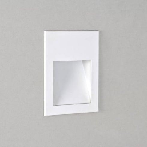 Astro Lighting Borgo 90 0973 Square White Recessed LED Wall Light IP20