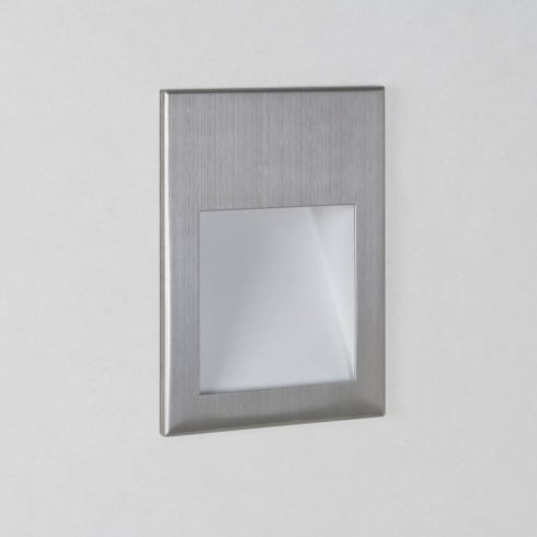 Astro Lighting Borgo 90 0975 Square Stainless Steel LED Wall Light IP20