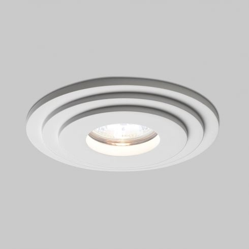 Astro Lighting Brembo 5583 Round White Plaster Bathroom Downlight Low Voltage 12V IP65