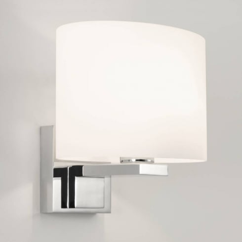 Astro Lighting Broni Grande 0879 Bathroom Wall light Polished Chrome with Opal Glass IP44