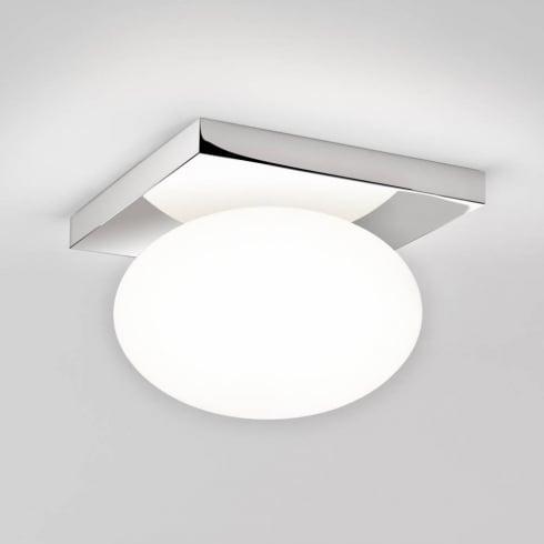 Astro Lighting Castiro 225 7014 Polished Chrome and Opal Ceiling Light
