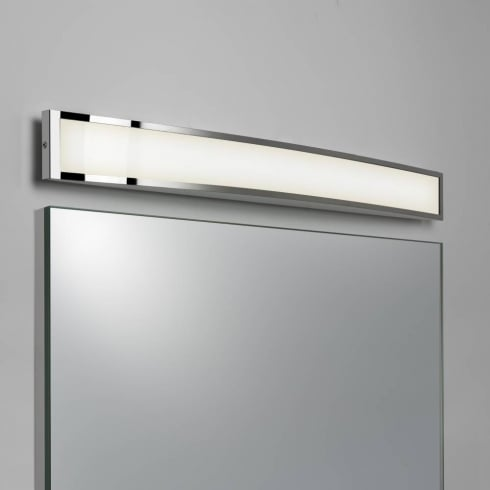 Astro Lighting Chord 7198 LED Polished Chrome rectangle bathroom Wall Light