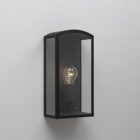 Astro Lighting Emilia 0895 Black Aluminium Outdoor Wall Light