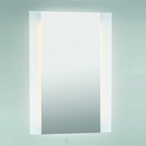 Astro Lighting Fuji Shaver 0548 Vertical illuminated Bathroom Mirror with Shaver Socket IP44