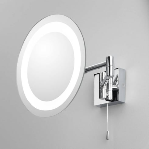Astro Lighting Genova 0356 Polished Chrome Illuminated Vanity Mirror