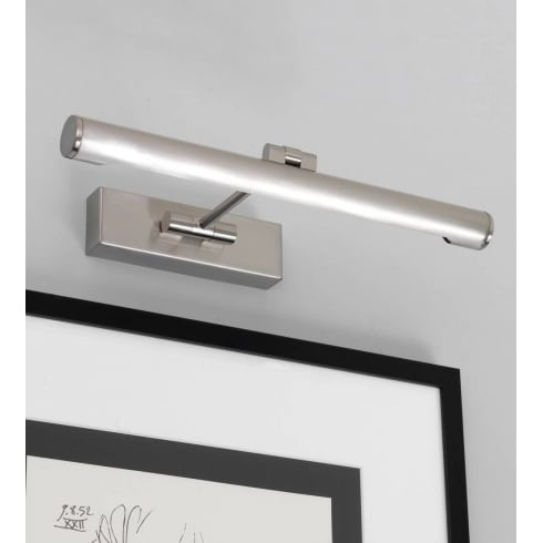 Astro Lighting Goya 365 0528 Brushed Nickel Picture Wall Light 365mm Wide