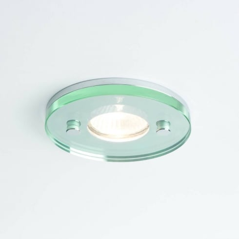 Astro Lighting Ice 12v 5511 Round Glass Chrome Bathroom Downlight Low Voltage IP65
