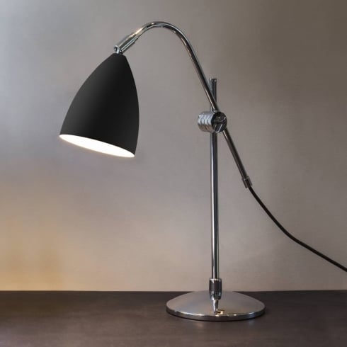 Astro Lighting Joel Grande 4553 Painted Black Large Switched Desk or Table Lamp