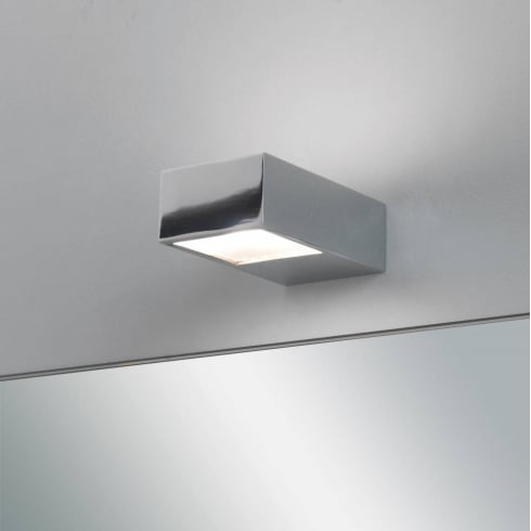 Astro Lighting Kappa 0672 Bathroom Surface Wall Light in Polished Chrome IP44