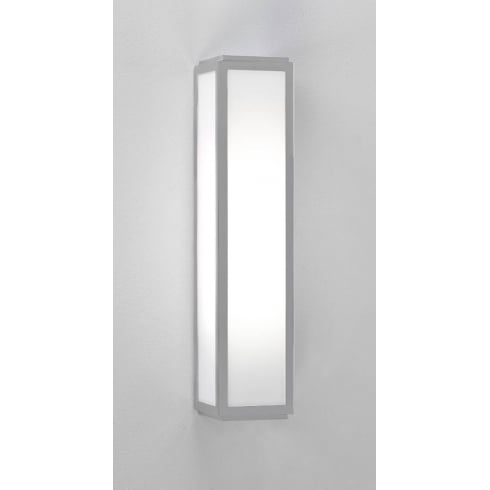 Astro Lighting Mashiko 360 7043 Bathroom Wall Light Silver Opal Glass IP44