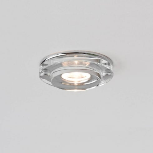 Astro Lighting Mint LED 5581 Round Chrome and Glass Integrated LED Shower Downlight Low Voltage IP65