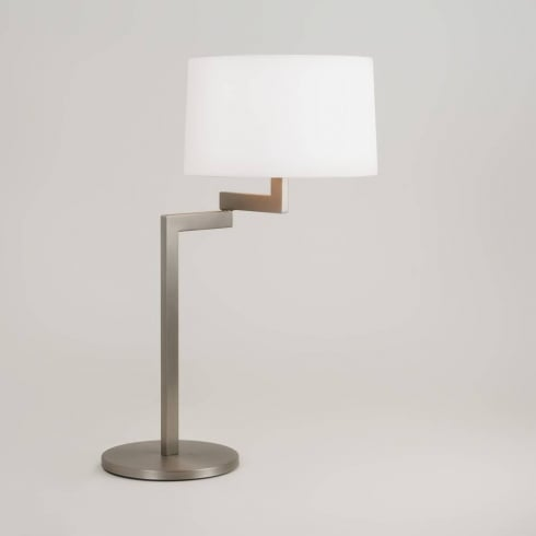 Astro Lighting Momo Table 4526 Brushed Steel Decorative Desk Lamp