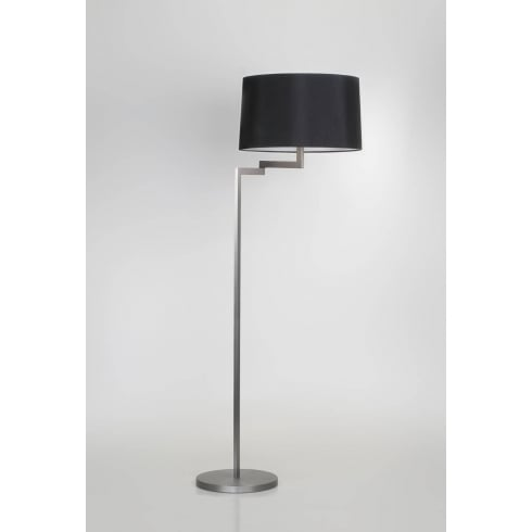 Astro Lighting Momo Floor 4529 Brushed Steel Contemporary Interior Floor Standing Lamp