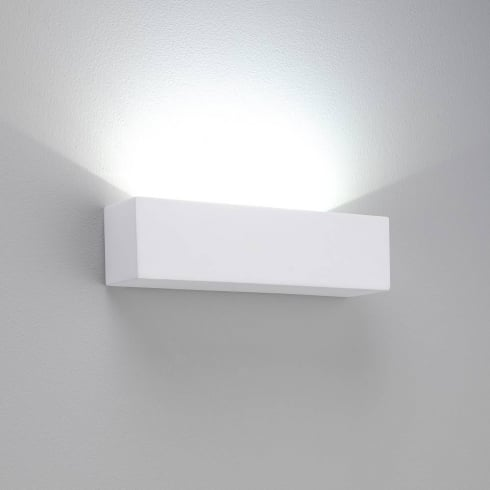 Astro Lighting Parma 250 0887 White Plaster LED Uplight