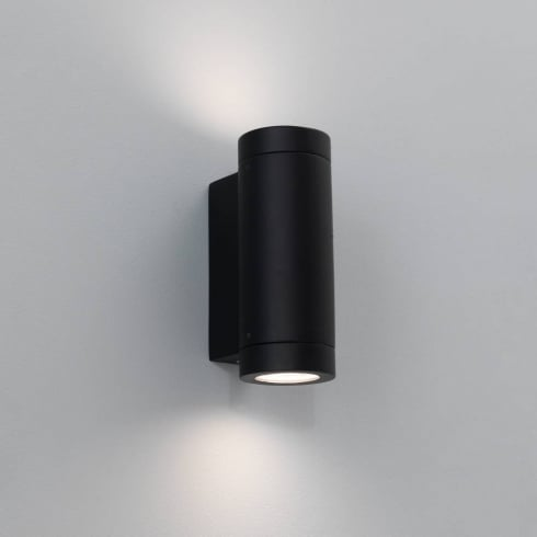 Astro Lighting Porto Plus 0626 Exterior Surface Up and Down Wall Light in Black