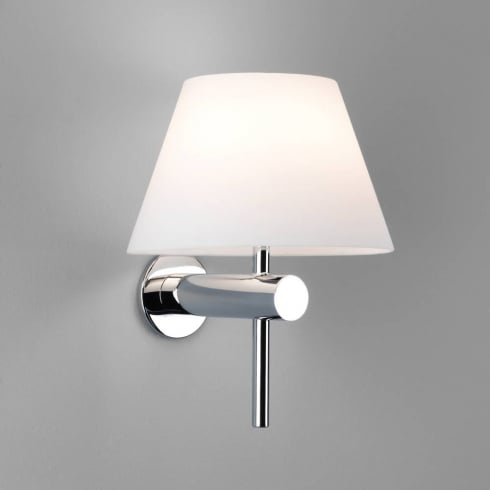 Astro Lighting Roma 0343 Bathroom Surface Wall light with White Opal Glass Shade