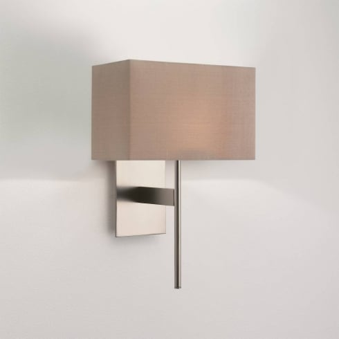 Astro Lighting San Marino Solo 0942 Matt Nickel Wall Light