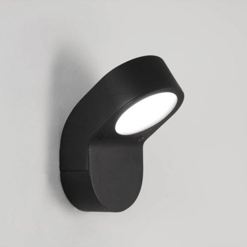 Astro Lighting Soprano 0675 Black Aluminium Modern Outdoor Surface Wall Light