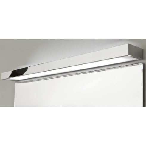 Astro Lighting Tallin 1200 0902 Polished Chrome Rectangular Modern Bathroom Wall Light