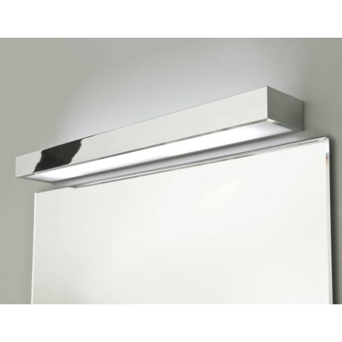 Astro Lighting Tallin 600 0661 Polished Chrome Rectangular Modern Bathroom Wall Light
