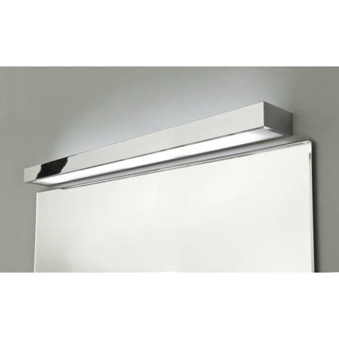 Astro Lighting Tallin 900 0693 Polished Chrome Rectangular Modern Bathroom Wall Light