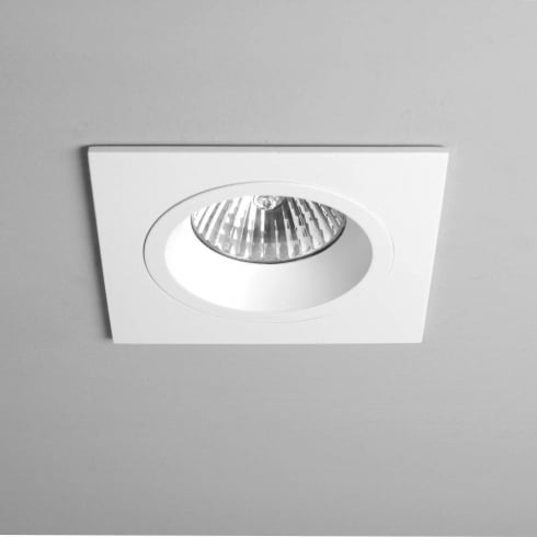 Astro Lighting Taro 12v 5602 White Square Fixed Recessed Downlight Low Voltage