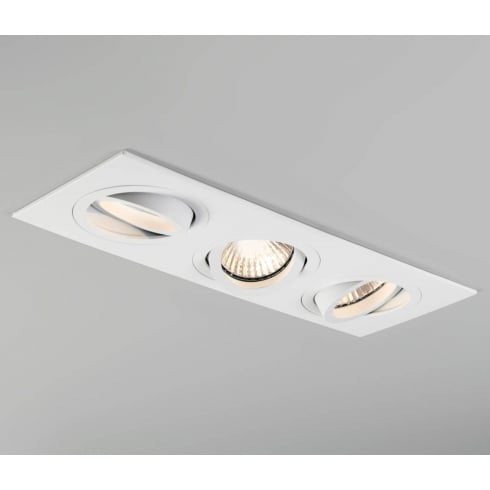 Astro Lighting Taro Triple 5650 White Adjustable GU10 Recessed Downlight 230V
