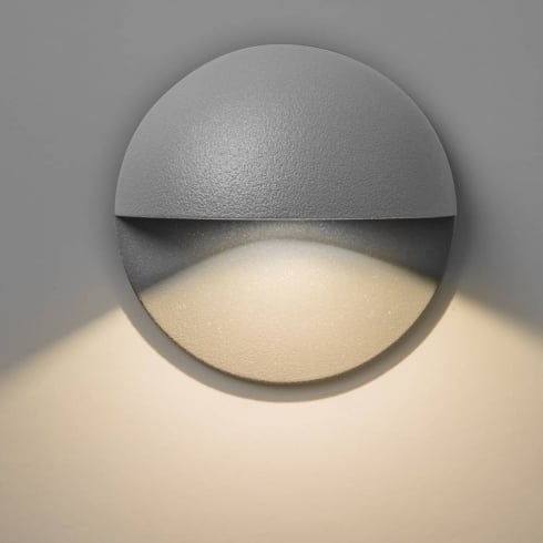 Astro Lighting Tivoli LED 7265 Painted Silver LED Exterior Surface Wall Light IP65