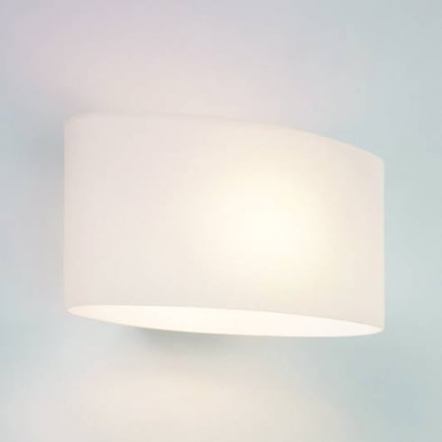 Astro Lighting Tokyo E14 0472 Modern Surface Wall Light in White Opal Glass IP20