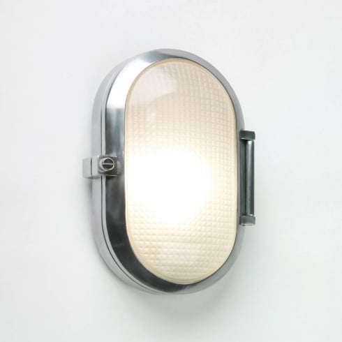 Astro Lighting Toronto Oval 0326 Polished Aluminium Outside Wall Light IP65