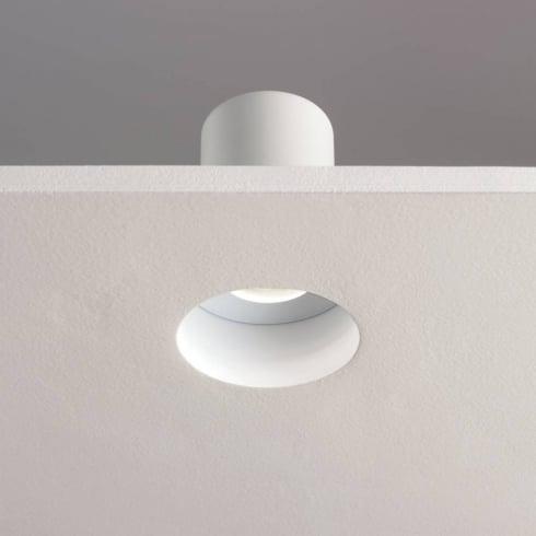 Astro Lighting Trimless 5624 Flush Plasterboard GU10 Downlight 230V IP65