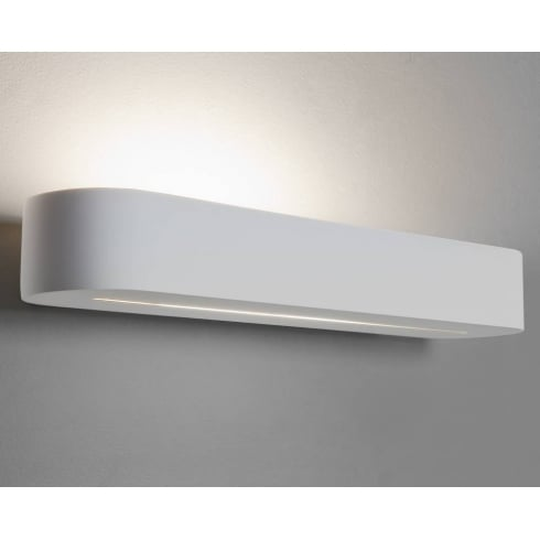Astro Lighting Veneto 400 0610 White Plaster Paintable Surface Wall Light 400mm