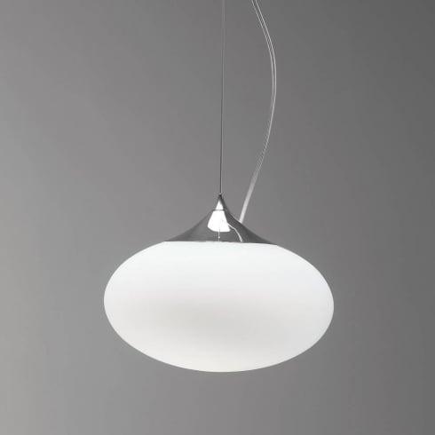 Astro Lighting Zeppo 0965 Modern Pendant Ceiling Light Opal Glass IP20