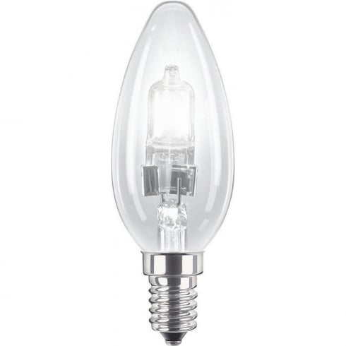 Philips Lighting 28W SES Candle Light Bulb
